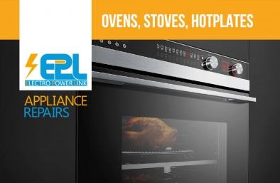 Oven, Stove, Hotplate Repair